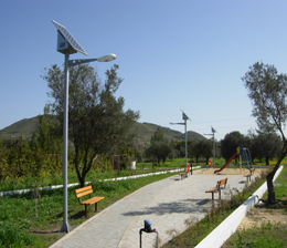 European Park Solar Street Light Project